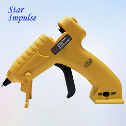 3.7V Cordless Lithium Battery Hot Melt Glue Gun with USB Charge Rechargeable  SI-S302