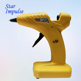 6V Cordless Dry Battery Hot Melt Glue Gun SI-S303
