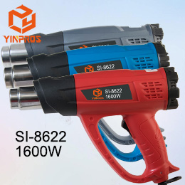 Professional Two Stage Temperature Adjustable Hot Air Gun 1600W SI-8622