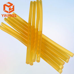 Yellow Translucent EVA Hot Melt Adhesive Glue Stick for Glue Gun 7mm