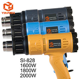 Industrial Power Tools Temperature Adjustable Electric Heat Gun Hot Air Plastic Welding Gun SI-828