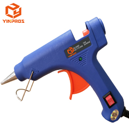 Most Popular Factory Wholesale 20W DIY Craft Hobby Electronics Mini Hot Melt Glue Gun Use with Glue Sticks SI-204K